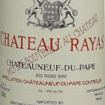Chateau Rayas Chateauneuf du Pape Reserve 2000